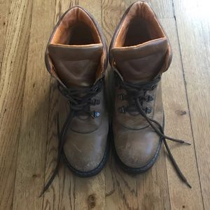 Leather Timberland Fall Work Boots!